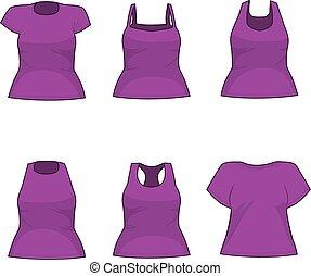 Purple Shirt Women Collection