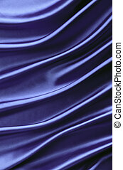 Purple silk background with curved lines