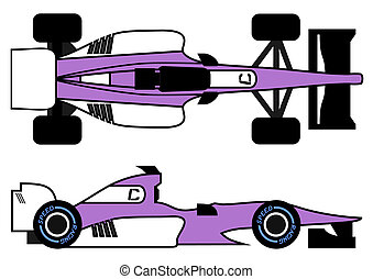 Purple speed racing