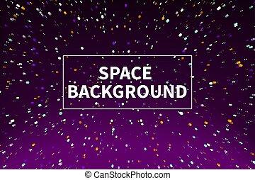 Purple starry background