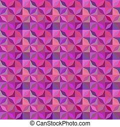 Purple stripe mosaic pattern background - seamless illustration