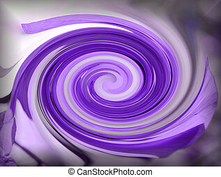 Purple swirl 2