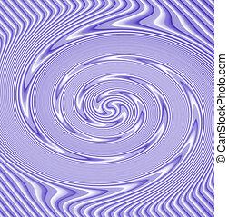 Purple swirl pattern