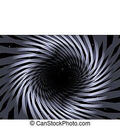 Purple swirled background shape
