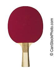 Purple table tennis racket