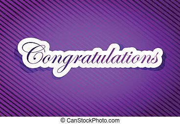 purple texture congratulations illustration design graphic background
