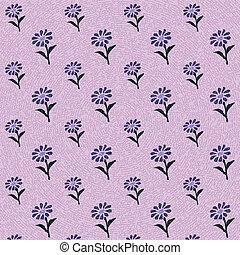Purple texture flower pattern
