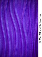 Purple texture wavy background. Interior wall decoration. Abstract lines.