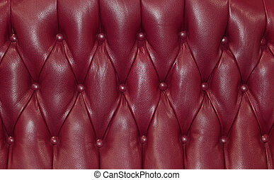 Purple upholstery