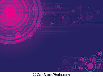 purple vector abstract background