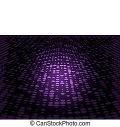 Purple vector doted floor