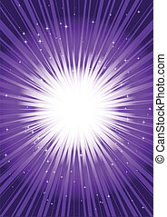 Purple vector flare