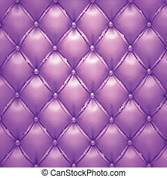 Purple vector upholstery leather pattern background. -...