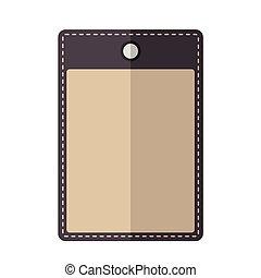 Purple vintage badge