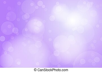 Purple Violet Bokeh Abstract Background