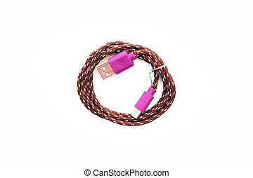 purple wire usb