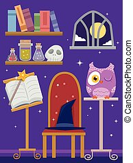 Purple Wizard Room