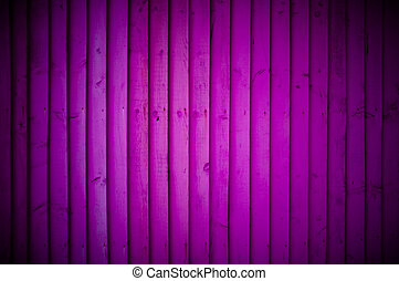 Purple wood wall