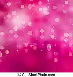 purpur, abstrakt, lights., eps, 8, jul