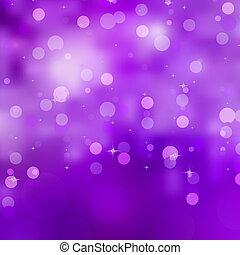 purpur, bokeh, bakgrund., eps, 8