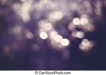 purpur, bokeh, lyse, abstrakt, bakgrund