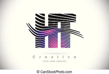 purpur, h, fodrar, struktur, skapande, zebra, design, ht, ...