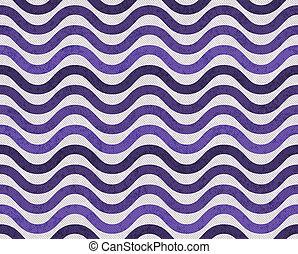 purpur, och, grå, vågig, strukturerad, tyg, bakgrund