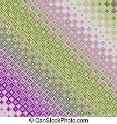 purpur, og, grøn baggrund
