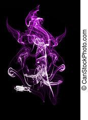 purpur, sort ryg, baggrund