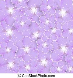 purpurne blumen, hintergrund