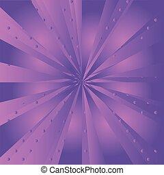 purpurowe tło, promień