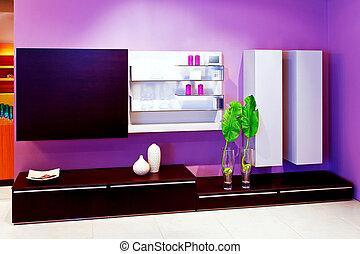 purpurowy, 2, półka