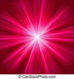 purpurowy, 8, abstrakcyjny, explosion., eps