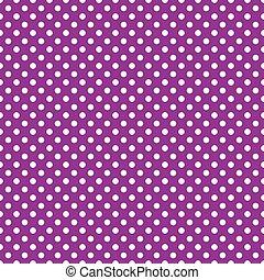 purpurowy, backgroun, polka, seamless, kropka