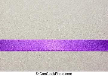 purpurowy, brązowy, pas, tło, wstążka