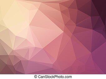 purpurowy, geometryczny, tło