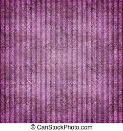 purpurowy, grungy, zaćmiony, pasy
