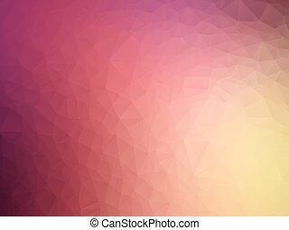 purpurowy, pastel, geometryczny, miękki, tło