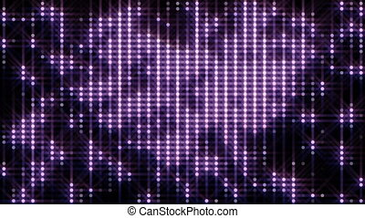 purpurowy, zatracony, tło, pętla