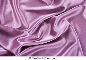 purpurrote seide, satin, oder, hintergrund
