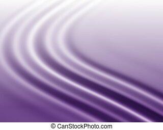 purpurrote seide