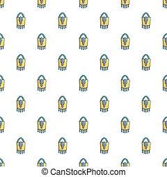 Purse handbag hipster pattern seamless
