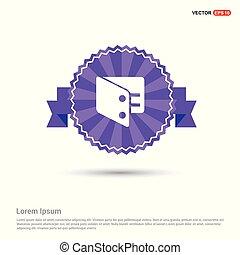 purse icon - Purple Ribbon banner