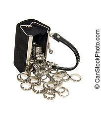 Purse spilling rings