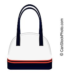 Purse - Vector illustration of the purse on white