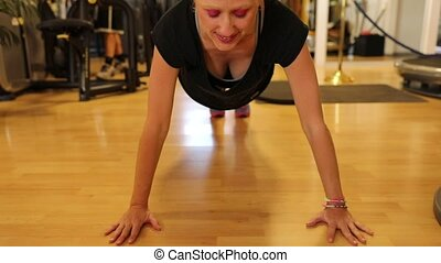 Push-up push workout