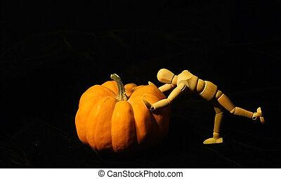 Pushing the Great Pumpkin (Cucurbita moschata)