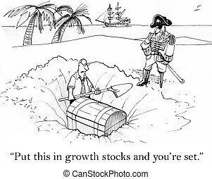 "Put this in growth stocks and you're set - ""Put this in..."