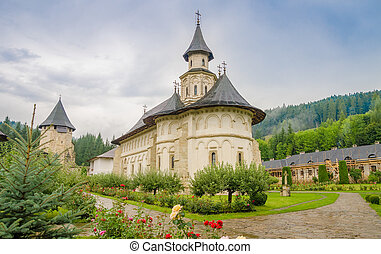 Putna historic monument Orthodox Monastery in Moldavia...