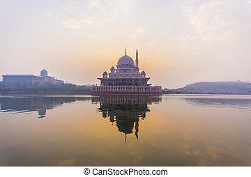 putra, malaysia, moschea, putrajaya